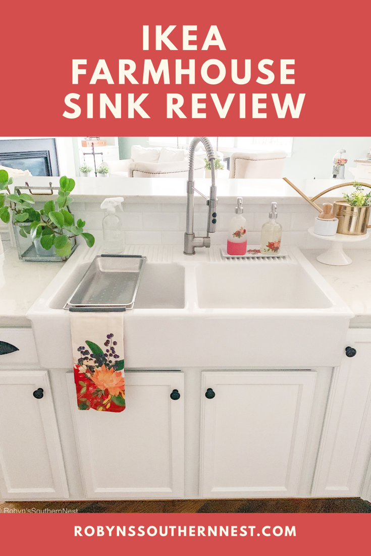 Ikea Farmhouse Sink Review Robyn S Southern Nest